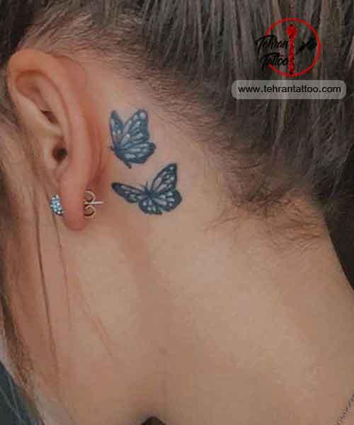 butterfly tattoo - طرح تاتوی پروانه