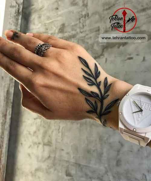 طرح زیبا برای تاتو روی دست